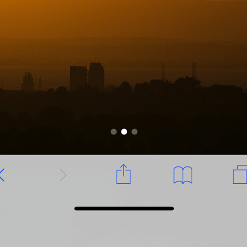 iPhone X – Bottom Edge Bar