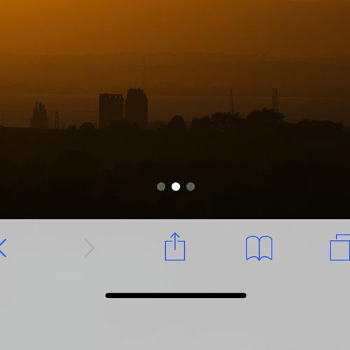 iPhone X –Bottom Edge Bar