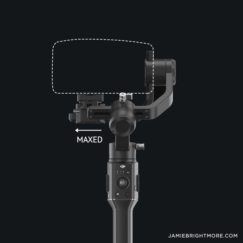 Blackmagic Pocket Cinema Camera 4K paired with the DJI Ronin-S