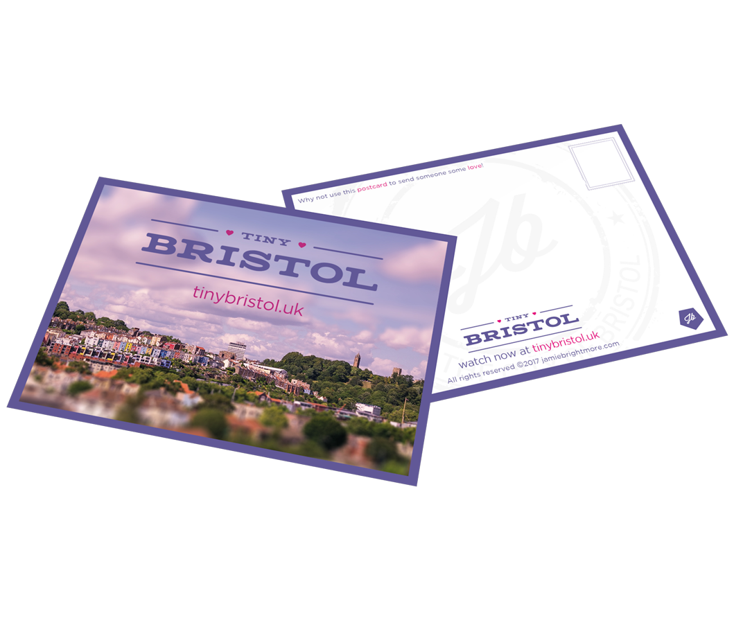 Tiny Bristol - Postcards